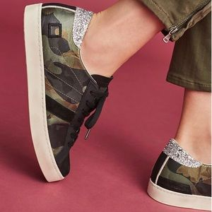 ANTHROPOLOGIE D.A.T.E. Hill Fantasy Camo Sneakers